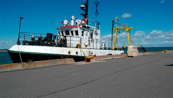 Sprat fishing trawler sale